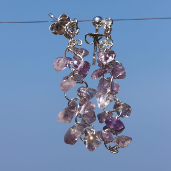 Ametrine Woven Earrings 4