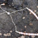 Multi-coloured Freshwater Pearls Bracelet-min