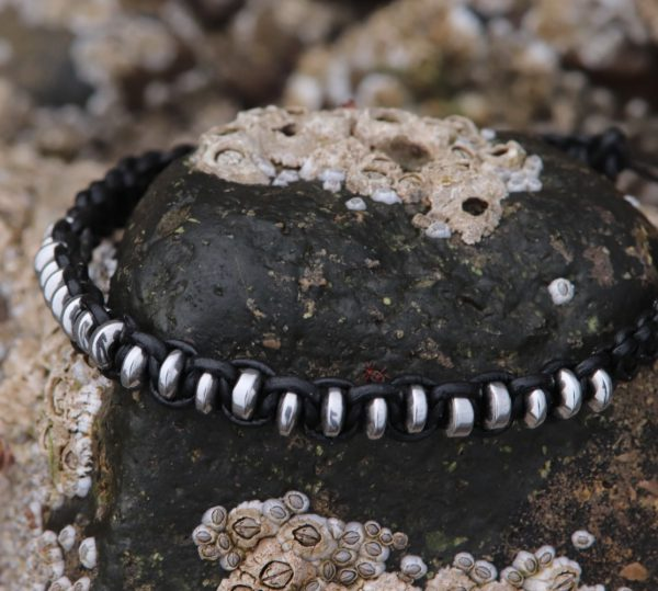 Silver Coloured Haematite Bracelet (2)-min