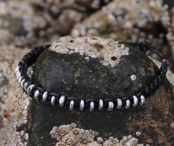 Silver Coloured Haematite Bracelet (5)-min
