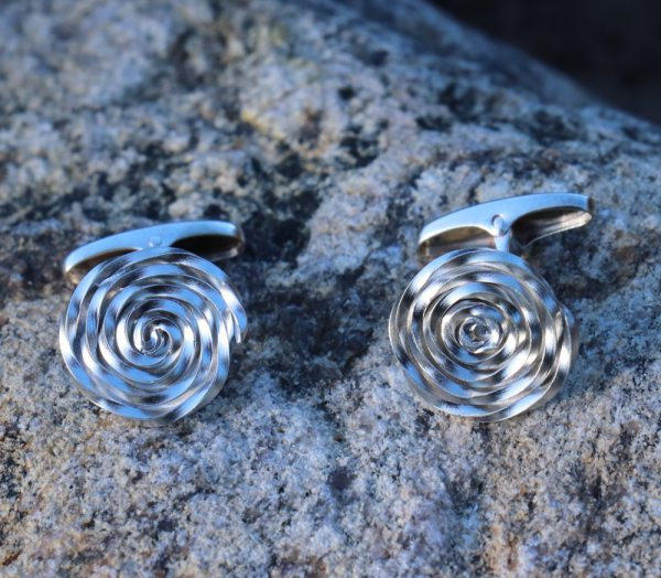 Swirl Cufflinks 1