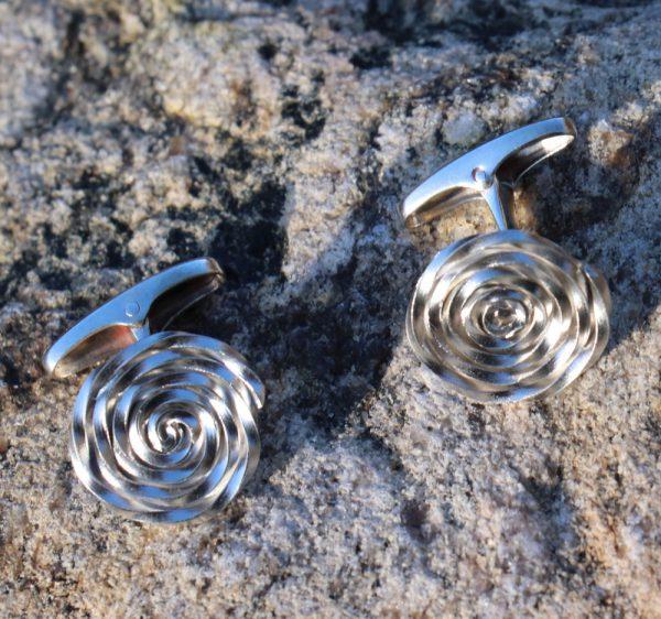Swirl Cufflinks 2