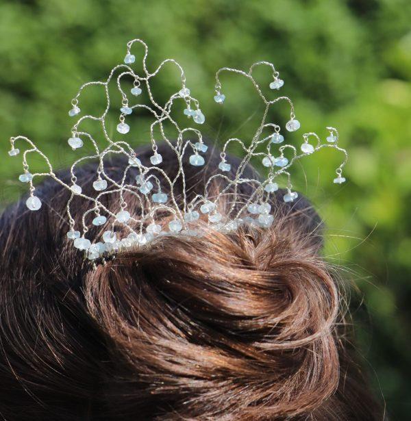 Tiny Aquamarine Hair Comb 1-min (1)