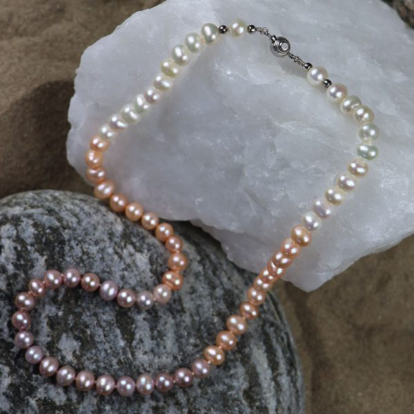 Colour Graduated Pearls 15 b