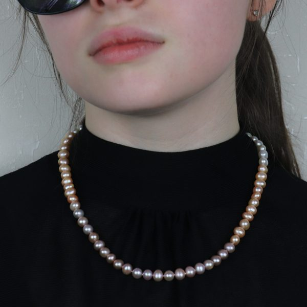 Colour Graduated Pearls 9 b