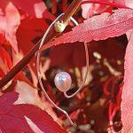 Elongated Pearl Drop Earring-min