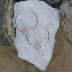 Endless Hoop Rose quartz 1 b