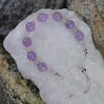 Lavender Amethyst Bracelet 2 b