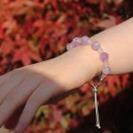 Lavender Amethyst Bracelet 5 b