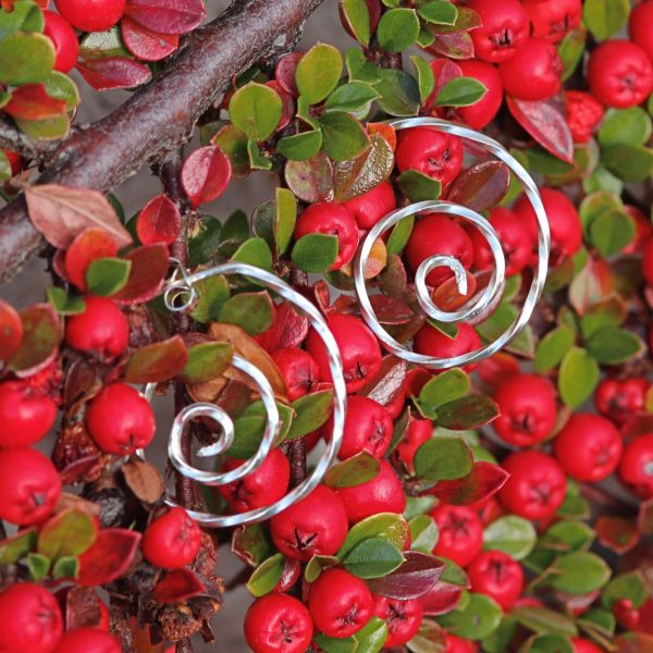 Open Celtic Swirl Earring-min