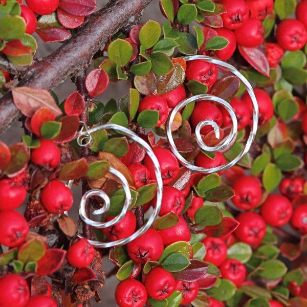 Open Celtic Swirl Earring-min