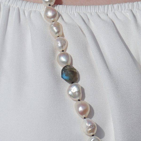 Baroque Pearls and Labradorite 4
