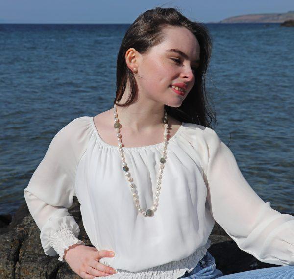 Baroque Pearls and Labradorite 5
