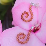 Hessonite Garnet Sparkle Hook Earrings 3